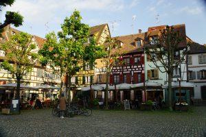In Straßburg lohnt sich der Blick in die Hinterhöfe (Foto: Manfred Koch)